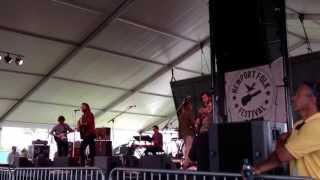 Father John Misty - Tee Pees live  at Newport Folk Festival 2013