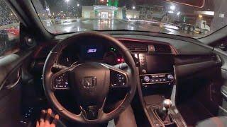 2020 Honda Civic Si Sedan - POV Night Drive & Final Thoughts