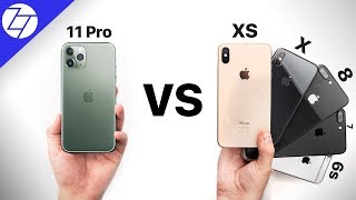 Apple iPhone 11 Pro vs iPhone XS/X/8/7/6S/6 - Should You Upgrade?