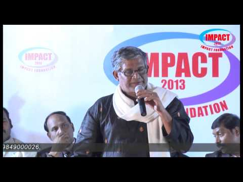 Life Story |Tanikella Bharani |TELUGU IMPACT Hyd Dec 2013