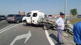 В Ингушетии произошло ДТП с участием военного автотранспорта