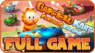 Garfield Kart: Furious Racing FULL GAME Longplay (PC) All Cups