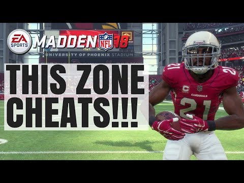 This Zone Is GLITCHY! Best Zone Defense In Madden 18