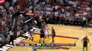 MUST SEE Miami Heat Vs Toronto Raptors  115   95  December 15  2009