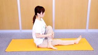 骨盤、股関節のストレッチ