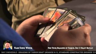Pro Tour Dragons of Tarkir: Drafting with Nam Sung Wook