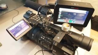 LANC-connection from Atomos Ninja Blade to Sony HVR-Z5e