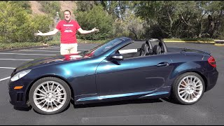 The Mercedes-Benz SLK55 Is an Underrated V8 Luxury Miata