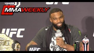Tyron Woodley: UFC 228 Post-Fight Press Conference  (FULL)