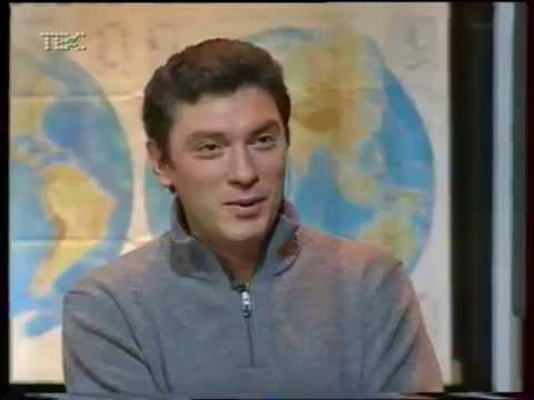 Борис Немцов. Однокашники (программа телеканала ТВС) видео