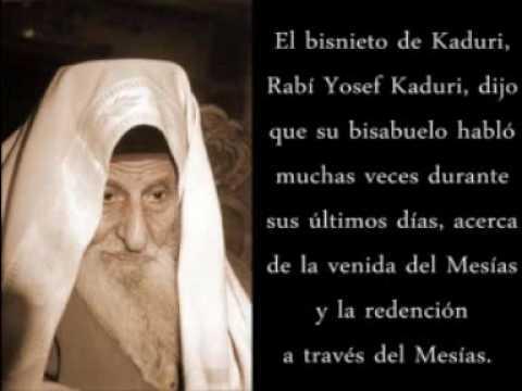 UN RABINO HABLÓ CON EL MESÍAS -El secreto del Rav Kaduri