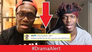 KSI Vs Deji ( Cops Called! ) on Christmas Morning! #DramaAlert  ( AUDIO LEAKED! )