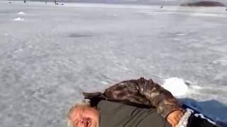 Батя нормально рыбалка морж