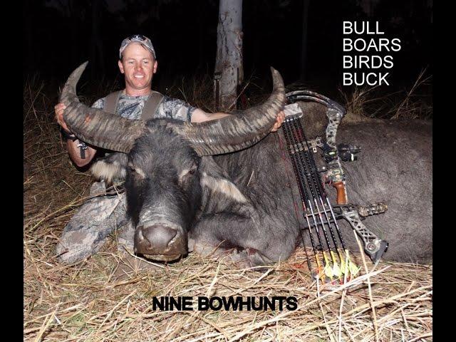 Bowhunting New Zealand Mathews Chill R Boars Buff Birds and Bucks