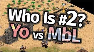 Who Is #2 in AoE2!? Yo vs MbL!