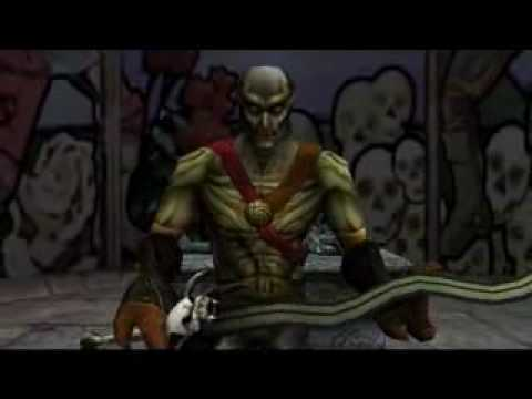 Soul Reaver 2 - Raziel and Kain