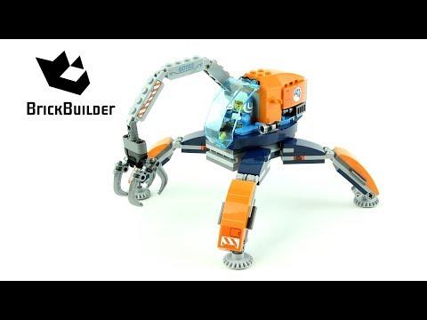 Vidéo LEGO City 60192 : Le véhicule arctique