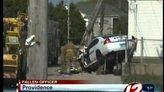 preview picture of video 'Officer Max Dorley killed in car crash in Providence'