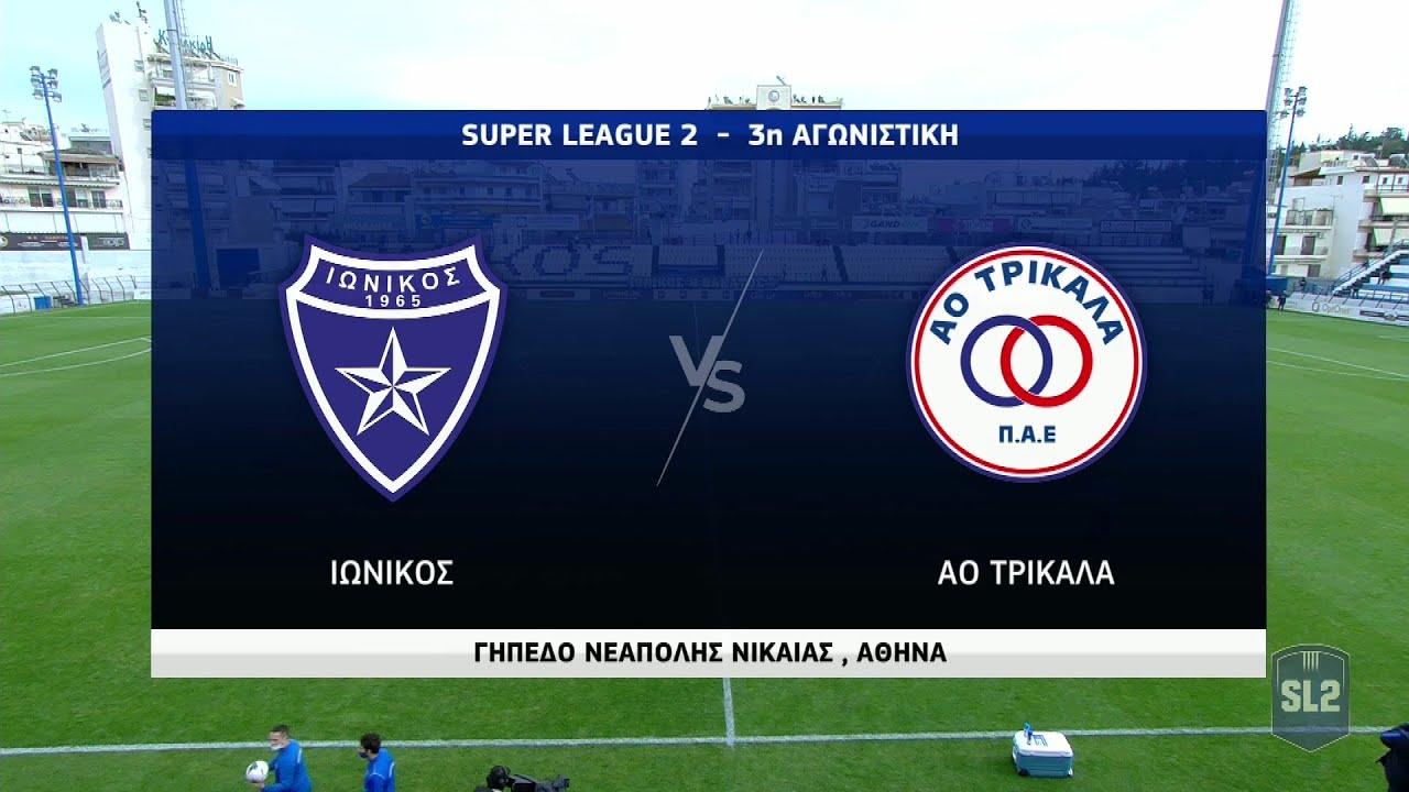 Superleague 2:  Ιωνικός – Τρίκαλα | 24/01/2021 | ΕΡΤ