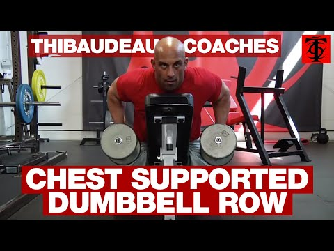 Chest Supported Dumbbell Row