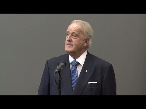 'I'm not a big fan of it:' Brian Mulroney asked about notwithstanding clause