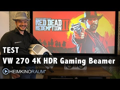 4K HDR Gaming Beamer SONY VW270: Red Dead Redemption 2 / Gran Turismo Sport