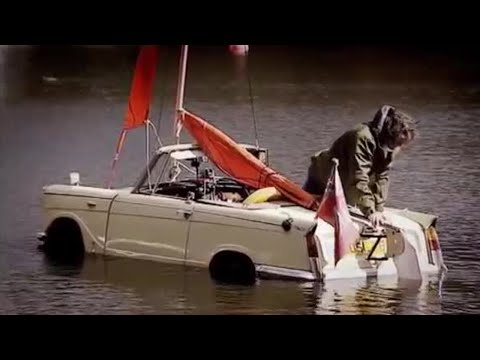 BBC: Top Gear – The Car Boat Challenge – Amphibious Cars in a Lake!