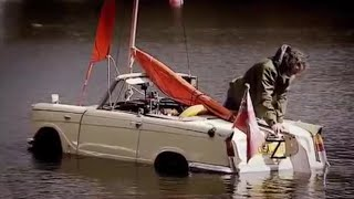 The Car Boat CHALLENGE - Amphibious Cars in a Lake! |Top Gear