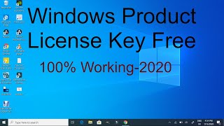 How To Get Windows Product License Key Free Latest 2020 | How To Activate Windows 10 Free 2020