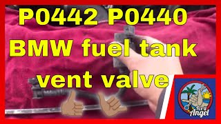 P0442 P0440 How to replace Fuel Tank Vent Valve BMW 328i √