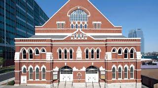 The Ryman Auditorium in Nashville, Tennessee