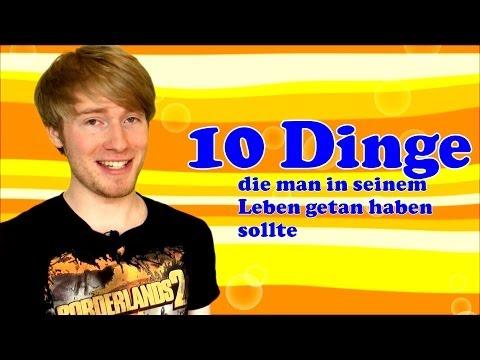 10 Dinge, die man in seinem Leben getan haben sollte