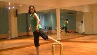 光海先生のダンスレッスン〜椅子を使ってアチチュードの確認〜のサムネイル