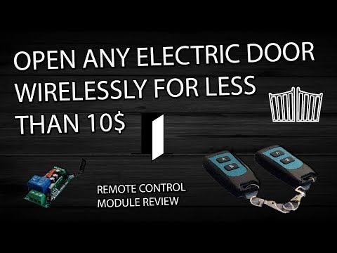 Easy Remote Control for your Electric Door/Gate