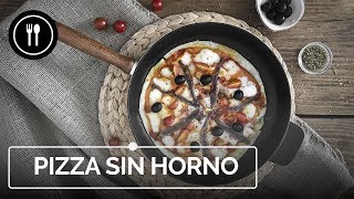 Cómo hacer PIZZA sin HORNO