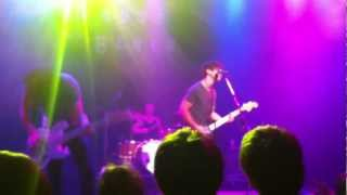 Armor for Sleep - Walking at Night Alone - LIVE at the House of Blues Chicago 7/22/12