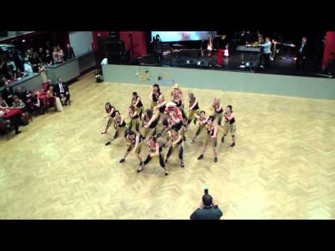 Maturitní ples  GaSOŠE Sedlčany - předtančení 4.OA