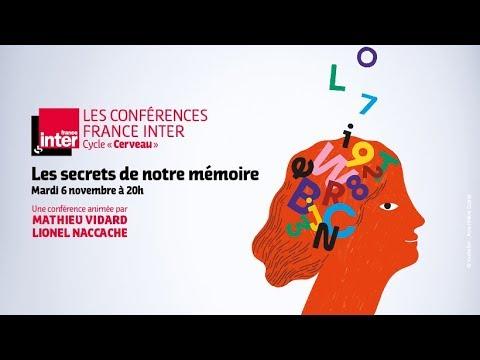 """Conférence France Inter  """"Les secrets de notre mémoire"""" / Bande annonce"""