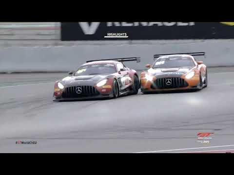 2020年 ブランパンGTシリーズ(バルセロナ)決勝レース1の中から約2分半にまとめたハイライト動画