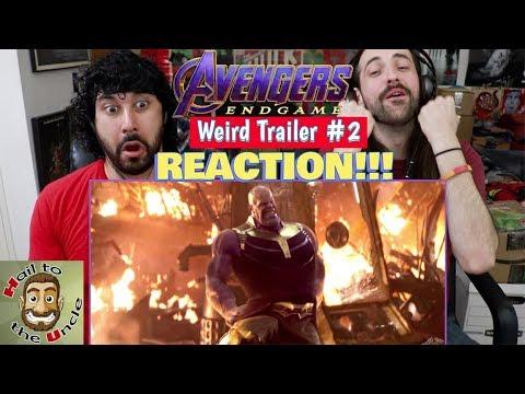 Download AVENGERS: ENDGAME Weird Trailer #2 | AVENGERS 4 PARODY by Aldo Jones - REACTION!!! Mp4 HD Video and MP3