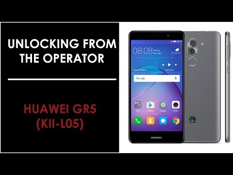 Unlock-Instruction for Huawei GR5 from mobile operator