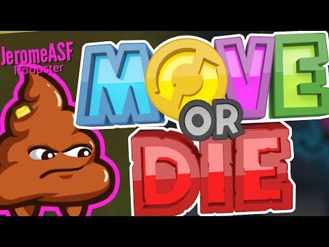 THIS GAME IS LITERALLY RIDICULOUS! - MOVE OR DIE (видео)