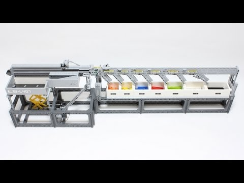 This LEGO Sorting Machine Makes Me Wish The World's Factories Ran On Bricks