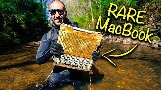 Found RARE MacBook From 1984 In Urban River!!! (Apple Computer) | Jiggin' With Jordan