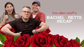 The Ellen Staff's 'Bachelorette Recap': Jealousy & Pity Roses