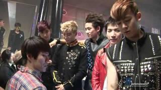 [BTS] 2PM -  HANDS UP MV (Zouk Night Club, Singapore)