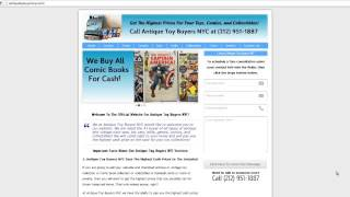 Antique Toy Buyers NYC|Sell Antique Toys NYC