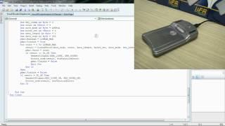 RFID NFC and MIFARE® programming - Visual Basic.net (Windows)
