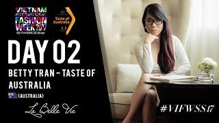 NTK Betty Tran cùng chương trình Taste of Australia của Tổng lãnh