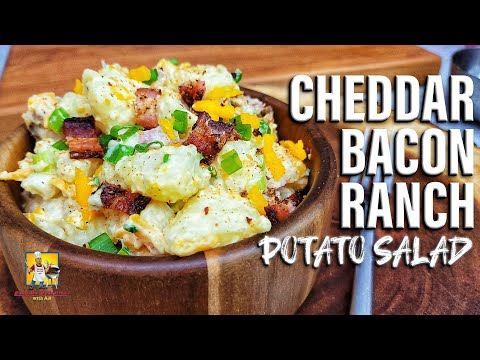 Interesting: Cheddar Bacon Ranch Potato Salad